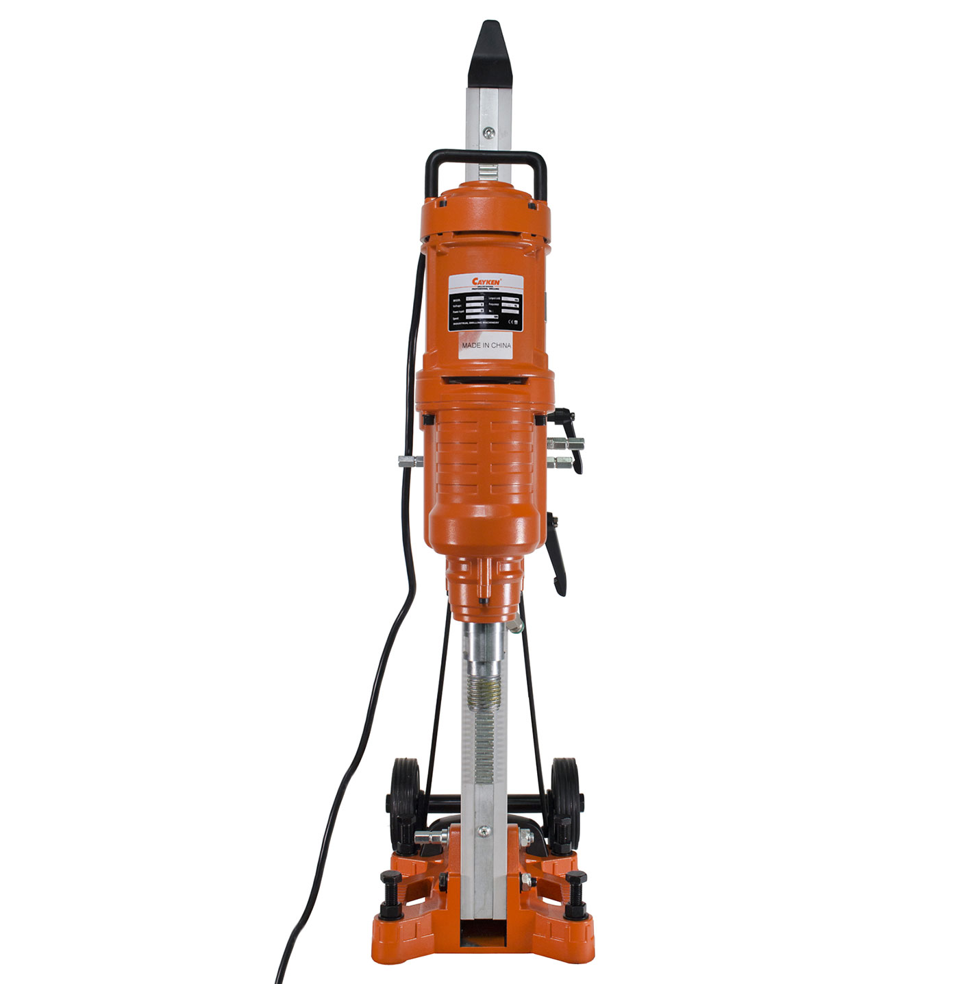Cayken KCY-2550BM 10 inch Core Drill Rig with KCY-200F Alumi