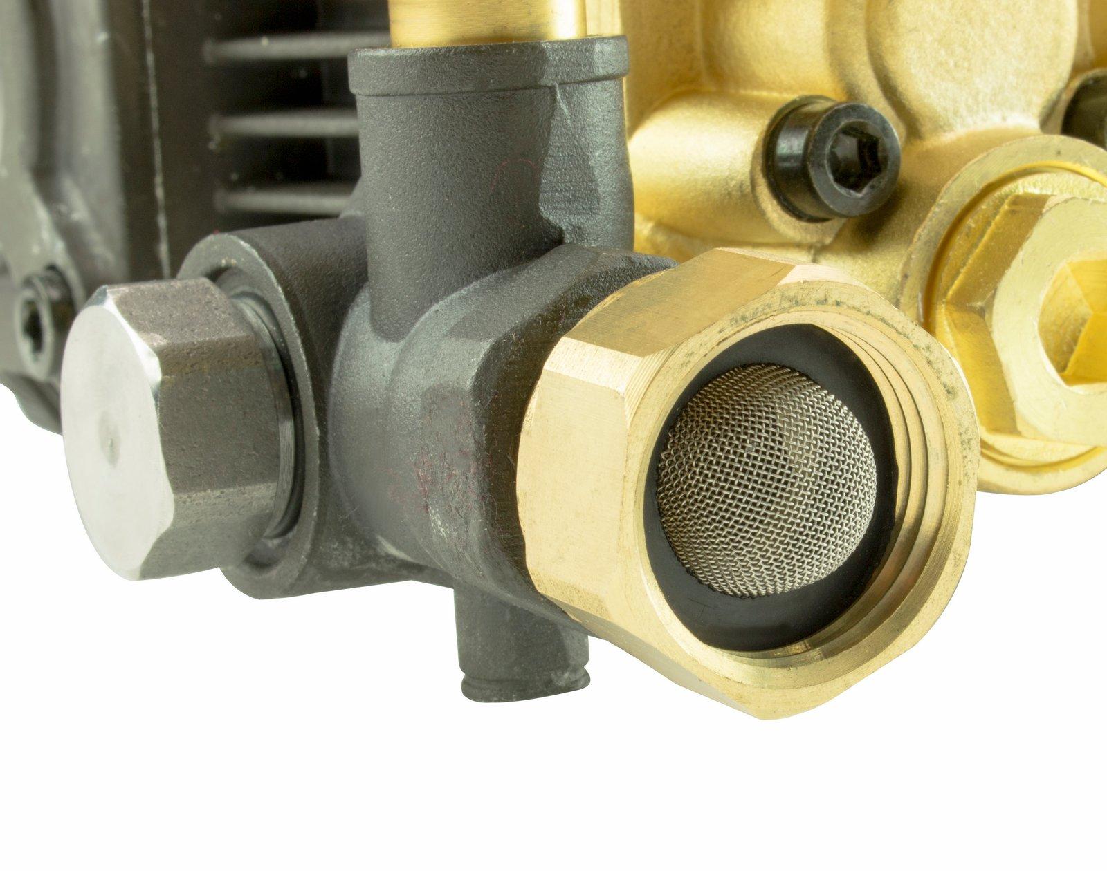ERIE TOOLS TRIPLEX Pressure Washer Pump for Cat General AR, 5 7 GPM, 3200  PSI