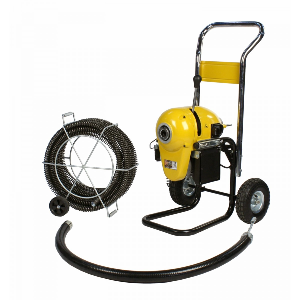 Sdt K1500 Snake 2 Quot 8 Quot Sewer Pipe Sectional Drain Cleaner
