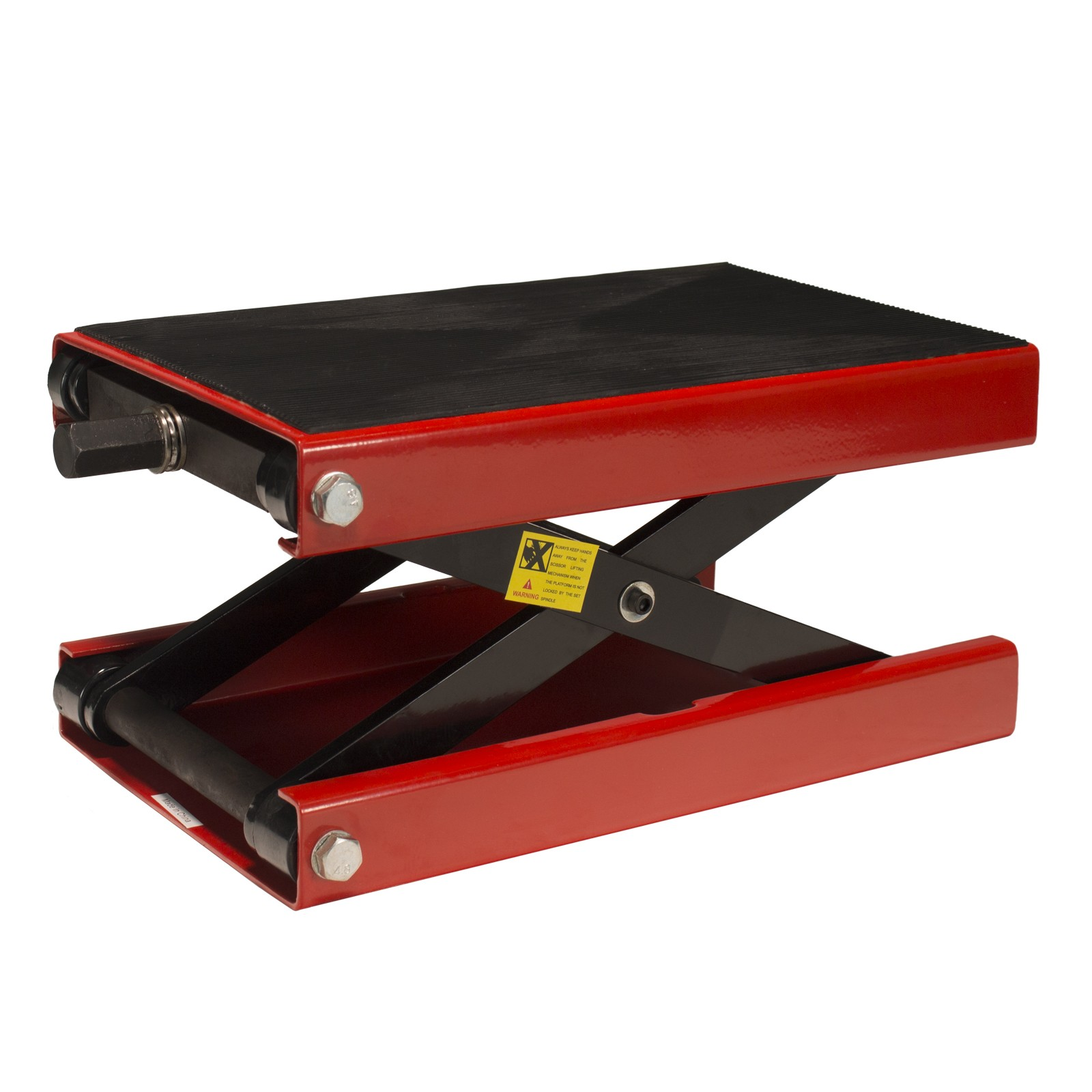 Dragway Tools 1100 LBS Wide Deck Motorcycle Scissor Lift Stand