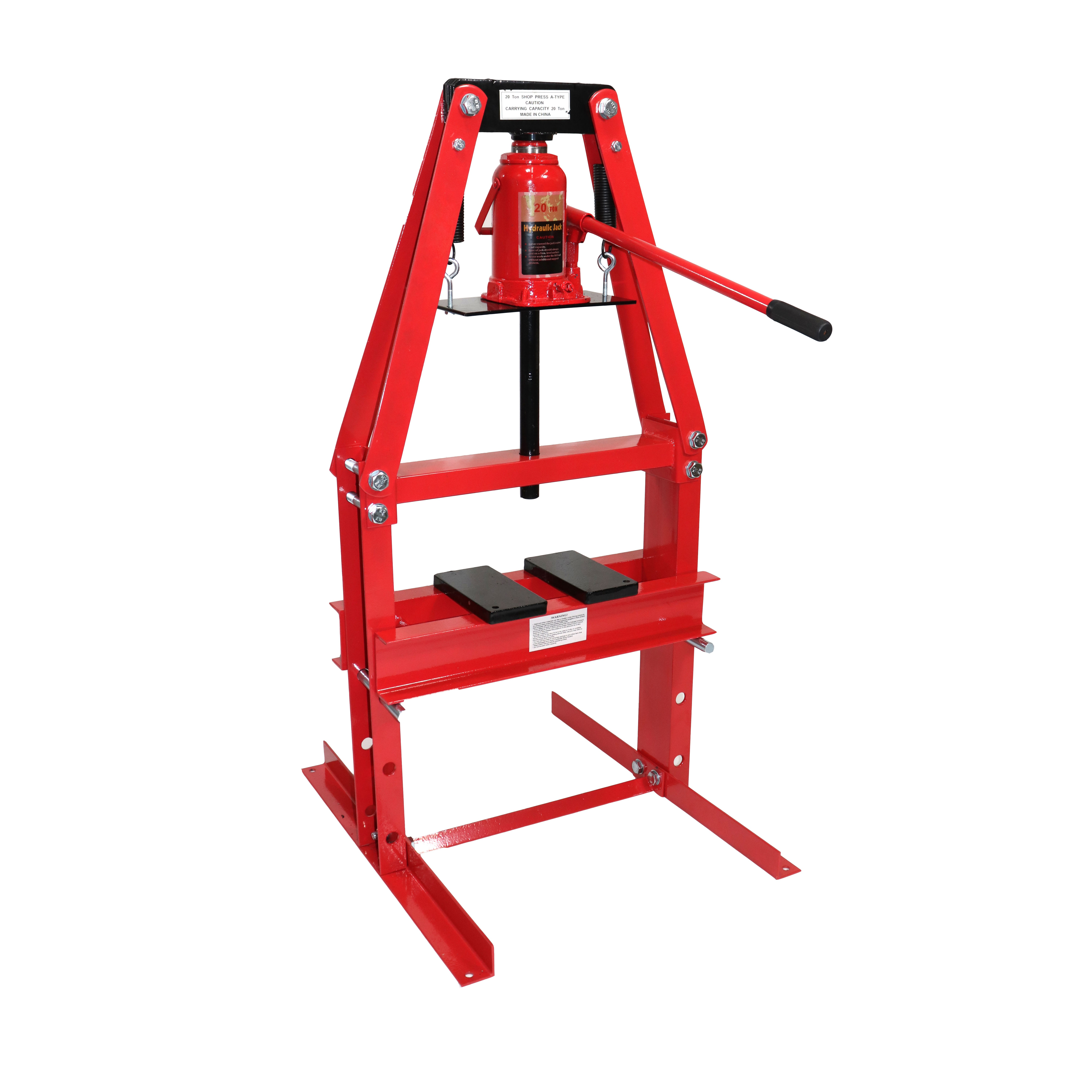 Dragway Tools 20 Ton A-Frame Shop Press with Plates