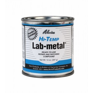 Alvin 14 oz Lab Metal Repair and Patching Compound Withstands Temps Up To 1000F
