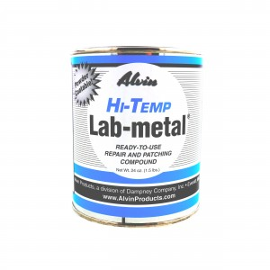 Alvin 24 oz Lab Metal Repair and Patching Compound Withstands Temps Up To 1000F