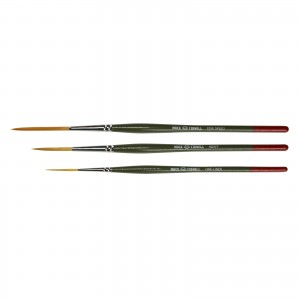 Andrew Mack/Jeral Tidwell M/T Series 3 Brush Set With Five Speed, Heavy, One-Liner