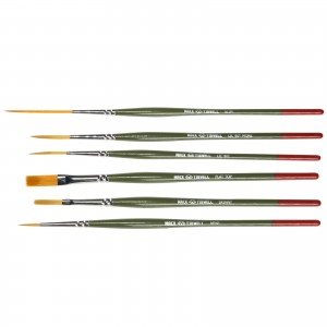 Andrew Mack/Jeral Tidwell 6 Brush Set M/T Series For Different Mediums