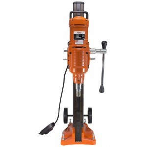 "Cayken 10"" Diamond Core Drill Rig with 580F Adjustable Angle Vacuum Plate Stand"