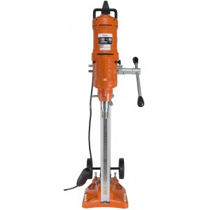 Cayken 10in. Diamond Core Drill Rig with 650F Adjustable Angle Vacuum Plate Stand