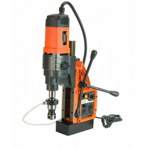 Cayken® KCY-48-2WDO Magnetic Drill Press with HSS Annular Cutters