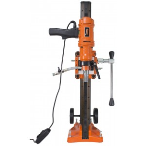 Cayken 6in. Diamond Core Drill Rig with 580F Adjustable Angle Vacuum Plate Stand
