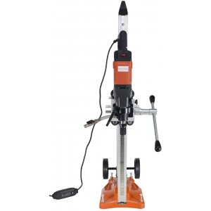 Cayken SCY-18-2EBM 5in. Core Drill Rig with 650F Adjustable Vacuum Stand