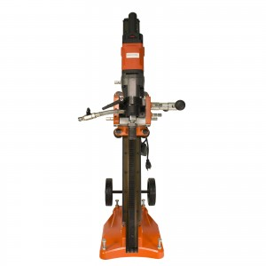 "Cayken 20"" Diamond Core Drill Rig with Adjustable Vacuum Plate Stand"