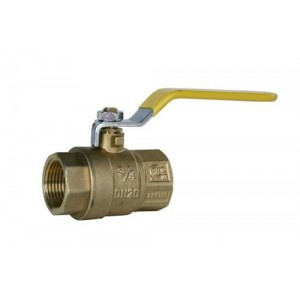 "Raptor Blast Brass Ball Valve, 3/4"" Female X Female 600PSI"