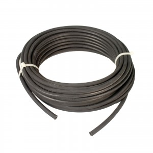 "Erie Tools Hydraulic Hose SAE 100R17 - 1/4"" ID - 1 High Tensile Steel Wire Braids - Hose Only - 100 Feet"