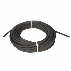 "Erie Tools Hydraulic Hose SAE 100R2AT - 1/4"" ID - 2 High Tensile Steel Wire Braids - Hose Only - 100 Feet"