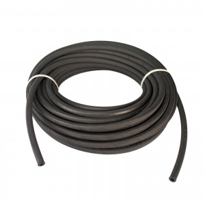 """Erie Tools Hydraulic Hose SAE 100R2AT - 3/8"""" ID - 2 High Tensile Steel Wire Braids - Hose Only - 100 Feet"""