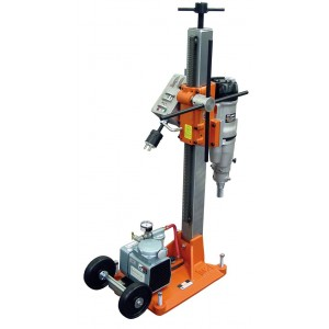 "Diamond Products M-2 Heavy Duty Core Rig Combination Drill Rigs with Vacuum Pumps - 10"" Bit Capacity"