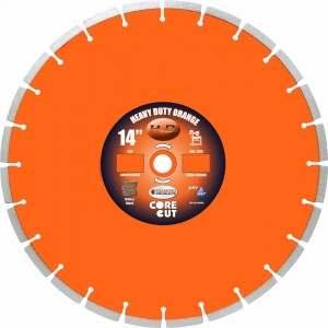 Diamond Products Heavy Duty Orange Masonry Blades for Brick & Block Application - Very High Quality Diamond