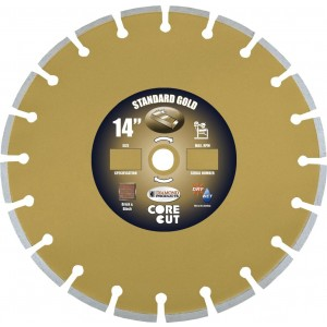 Diamond Products Standard Gold Masonry Blades for Brick & Block Application - Better Quality Diamond