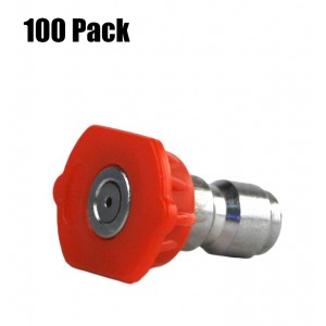 Erie Tools 1/4in. Quick Connect Nozzle 0 Degree 4.5 Orifice 4000 PSI (100)