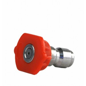 Erie Tools 1/4in. Quick Connect Nozzle 0 Degree 4.5 Orifice 4000 PSI
