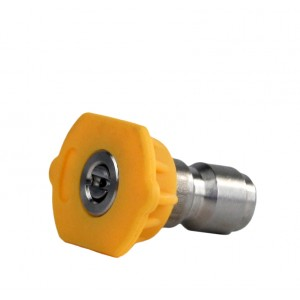Erie Tools Quick Connect 15 Degree 3.0 to 6.0 Orifice Pressure Washer Nozzles