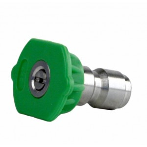 Erie Tools 1/4in. Quick Connect Nozzle 25 Degree 3.5 Orifice 4000 PSI