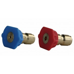 Erie Tools Pressure Washer Jet and Soap Nozzle Kit for 2nd Story Cleaning 0°