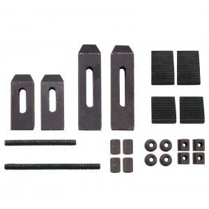 "24 Piece Clamping Kit For Small Milling Machines With .305"" Table Slots"