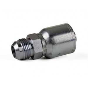 "Erie Tools JIC 37° Male Rigid Hydraulic Hose Fitting, 1/4"" -1"""