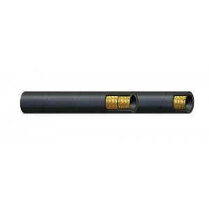 """Erie Tools Hydraulic Hose SAE 100R17 - 1/4""""-1"""" ID - 1 or 2 High Steel Wire Braids - Custom Overall Length"""