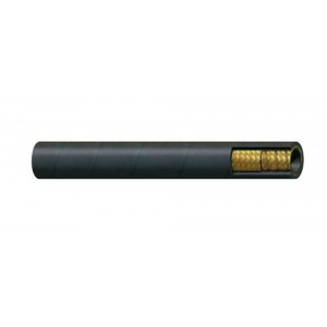 "Erie Tools Suction Hose SAE 100R4 - 3/4""-2"" ID - Textile with Helix Steel Wire - Custom Overall Length"