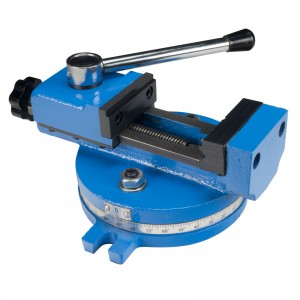 Erie Tools 55 MM Mill Vise With Adjustable Screw and Quick Clamp for Mini Mill