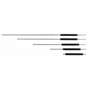 "Giant 15.5"", 24"", 36"", 48"", and  60"" Stainless Steel Wands with 12"" adjustable grip"