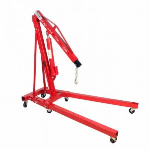 Dragway Tools 2 Ton Folding Hydraulic Engine Hoist