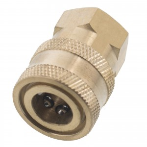 "Erie Tools 1/4"" FPT Female Brass Socket"
