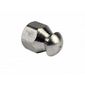 """Erie Tools Button Nose 1/4"""" Sewer Jetter Nozzles 5.5 Orifice"""