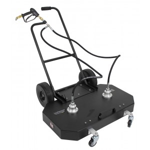 """Erie Tools 36"""" Surface Cleaner with Wheels and Handle 4000 PSI 21 GPM"""