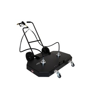 """Erie Tools 48"""" Surface Cleaner with Wheels and Handle"""