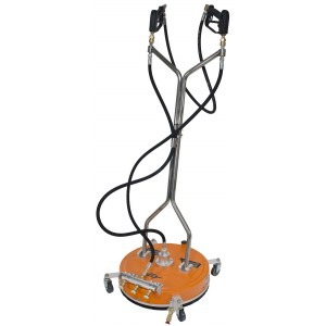 """20"""" Polypropylene Surface Cleaner with 3 Nozzle Spray Bar for Pressure Washer"""