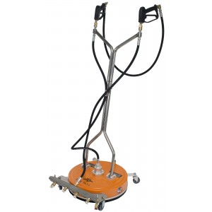 """20"""" Polypropylene Surface Cleaner with 4 Nozzle Spray Bar for Pressure Washer"""