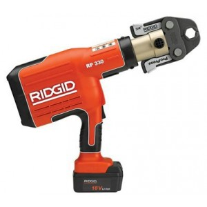 "RIDGID ® 43358 RP340-B 18V ProPress Tool with 1/2"" - 2"" Jaws"