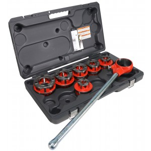 RIDGID ® 36475 12-R 1/2in. - 2in. NPT Exposed Ratchet Pipe Threader Set