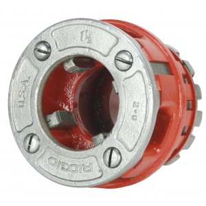"Reconditioned RIDGID® 37410 Old Style Die Head 1-1/2"" NPT Alloy RH for 12-R"