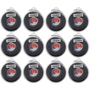 12 Pack of Vortex Trimmer Line 12167 .130 x 120 1 LBS Donuts