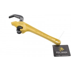 "Steel Dragon Tools® 9-1/2"" Offset Hex Pipe Wrench 31305"