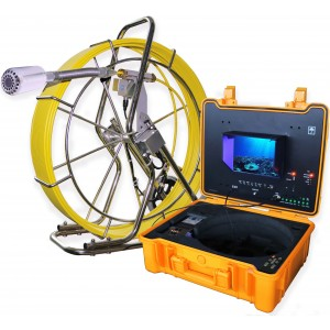 Steel Dragon Tools® 3288TA 200 FT Self Leveling Pipe Inspection Camera System