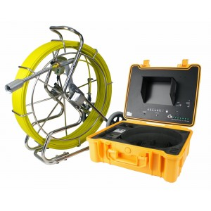 Steel Dragon Tools® 3488 Pipe Camera with Optional Transmitter, DVR, 400' Cable