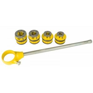 "Steel Dragon Tools® 12-R 36480 Ratchet Threader Set  1/2"" - 1-1/4"""