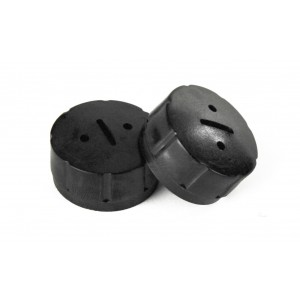 (2) Steel Dragon Tools® 44545 Plastic Brush Caps for 87740 Motor