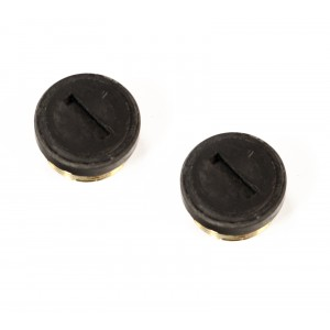 (2) Steel Dragon Tools® 45660 Motor Brush Caps for SDT 700 Power Drive 41935